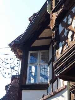 Détail du bâtiment du musée Westercamp