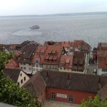 Vue de la chambre sur le lac de Constance